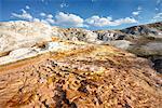 Mineral deposition at Mammoth Hot Springs, Yellowstone Natural Park; Wyoming; USA