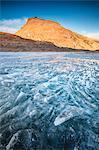 Blocks of ice, Montespluga, Chiavenna Valley, Sondrio province, Valtellina, Lombardy, Italy