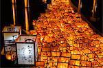 Floating Lanterns in Hyakumangoku Festival, Ishikawa Prefecture, Japan