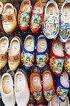 Clogs for sale in Bloemenmarkt, Amsterdam, Netherlands, Europe