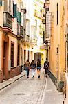 Santa Cruz district, Seville, Andalusia (Andalucia), Spain, Europe