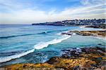 Bronte and Tamarama Beaches panorama, Sidney, Australia