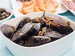 Fresh spanish seafood