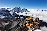 Camp 2 on Ama Dablam, Sagarmatha National Park, UNESCO World Heritage Site, Khumbu Valley, Nepal, Himalayas, Asia