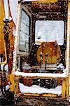 Broken Construction Machinery