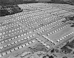 1950s AERIAL OF A DEVELOPMENT OF SINGLE FAMILY HOUSES NEAR WOODBRIDGE NJ THIS IS IN MENLO PARK NJ USA