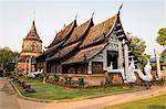 Temple Wat Lok Moli, Chiang Mai, Thailand, Southeast Asia, Asia