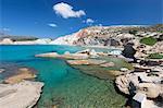 Firiplaka beach, Milos, Cyclades, Aegean Sea, Greek Islands, Greece, Europe