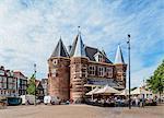 Waag, Nieuwmarkt Square, Amsterdam, North Holland, The Netherlands, Europe