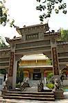 The Chinese temple of Bodh Gaya, Bihar, India, Asia