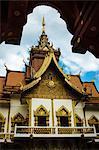 Wat Buppharam, Chiang Mai, Thailand, Southeast Asia, Asia