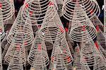 Spiral incense sticks, Taoist temple of Phuoc An Hoi Quan Pagoda, Ho Chi Minh City, Vietnam, Indochina, Southeast Asia, Asia