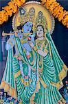 Krishna and Radha, Sri Thenday Yutthapani Temple, Ho Chi Minh City, Vietnam, Indochina, Southeast Asia, Asia