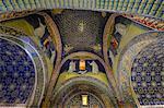 Mausoleum of Galla Placidia, UNESCO World Heritage Site, Ravenna, Emilia-Romagna, Italy, Europe