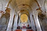 The Duomo di San Leone, the Romanesque cathedral of San Leo, Rimini province, Emilia Romagna, Italy, Europe