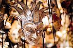 Traditional Venetian masks on display, San Marco, Venice, Veneto Province, Italy, Europe
