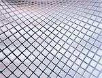 Metallic squares, illustration.