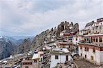 Mountain village, Dêngqên, Xizang, China