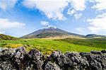 Ponta do Pico, highest mountain of Portugal, Island of Pico, Azores, Portugal, Atlantic, Europe