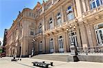 Teatro Colon, historic theatre, Plaza Lavalle, Congreso and Tribunales, Buenos Aires, Argentina, South America