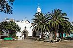 Parroquia de San Gines church, Arrecife, Lanzarote, Canary Islands, Spain, Atlantic, Europe