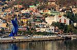 Sailfish Monument, Manzanillo City, Colima State, Mexico, North America