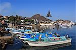 Fishing boats, Manzanillo City, Colima State, Mexico, North America