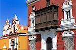 Compania de Jesus Church, Plaza de Armas, Trujillo, Peru, South America