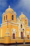 Basilica, Plaza de Armas, Trujillo, Peru, South America