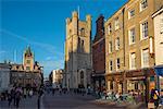 King's Parade, Great St. Mary's Church, Cambridge, Cambridgeshire, England, United Kingdom, Europe
