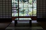 Traditional Japanese inn interior