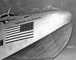 1940s PAN AMERICAN AIRWAYS HULL OF YANKEE CLIPPER FLYING BOAT AIRPLANE