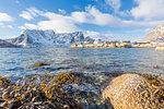 Fishing village of Sakrisoy, Lofoten Islands, Nordland, Norway, Europe
