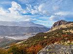 Los Glaciares National Park, UNESCO World Heritage Site, view from the El Chalten-Laguna Capri trail, Santa Cruz Province, Patagonia, Argentina, South America
