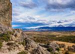 Devil Chair Rock Formation, Cueva del Milodon Natural Monument, Puerto Natales, Ultima Esperanza Province, Patagonia, Chile, South America