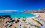 Falassarna beach in Western Crete, Greek Islands, Greece, Europe