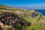 Rocky coastline on South East coast, Funchal, Madeira, Portugal, Atlantic, Europe