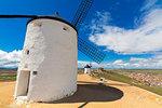 Windmills of Consuegra, Don Quixote route, Toledo province, Castilla-La Mancha (New Castile) region, Spain, Europe