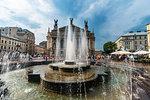 Lviv National Academic Opera and Ballet Theatre, Lviv, UNESCO World Heritage Site, Ukraine, Europe