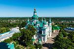 View over the Trinity Monastery, Chernihiv, Ukraine, Europe