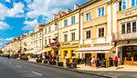 Nowy Swiat Street, Warsaw, Poland, Europe
