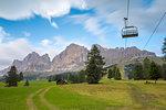 Roda di Vael view near Passo Costalunga, Bolzano Province, South Tyrol, Trentino Alto Adige, Italy
