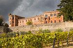 Brolio castle, Gaiole in Chianti, Siena province, Tuscany, Italy.