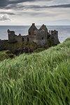 Dunluce Castle, County Antrim, Ulster region, Northern Ireland, United Kingdom.