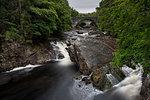 River Moriston falls, Invermoriston, Scotland, Europe