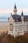 Neuschwanstein Castle, Schwangau, Ostallgäu, Schwaben district, Bavaria, Germany, Europe