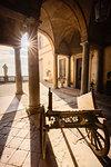 Palazzo Terzi (Terzi Palace) baroque architecture in Upper Town (Città Alta). Bergamo, Lombardy, Italy.