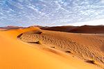 Morning view of Sossusvlei sand dunes,Namib Naukluft national park,Namibia,Africa