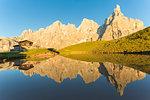 Pale di san Martino, Dolomites, rolle pass, trento province, trentino alto adige, italy