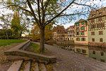 Canal of Petite France, Strasbourg district, Alsace, Grand Est region, Bas-Rhin, France